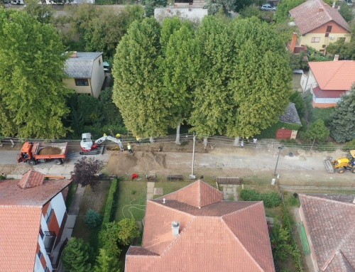 Notification on the continuation of construction of sewage in Palić