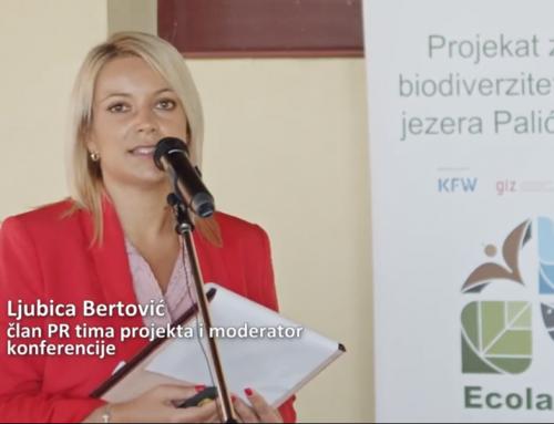 Sajtótájékoztató az Ecolacus projekt ez évi eredményeiről és az információs táblák kihelyezéséről