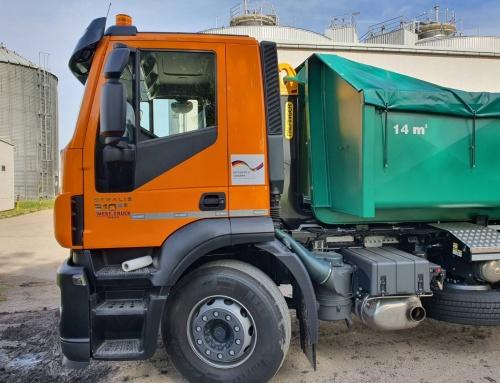 Izvršena primopredaja kamiona za transport dehidriranog mulja