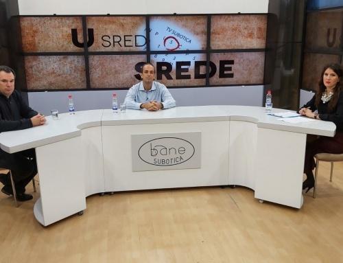 Emisija na TV Subotica o projektu Ecolacus